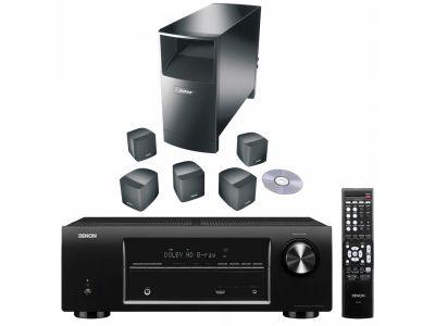 La mejor solución para cine en casa, musica y juegos ahora sin cables hacia la parte trasera. RECEPTOR AV DENON AVR-1513 Y BOSE ACOUSTIMASS 6 IV DE REGALO : BOSE SL-2 transmisor inalambricos para altavoces traseros Bose. Promoción valida del 1 de junio de 2013 al 31 de agosto de 2013 http://www.loewe-bose.com/producto-sonido+denon+bose-home+cinema+avr++1513+y+bose+acoustimas+am6-548-74.html