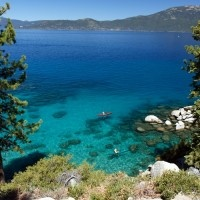 Of Lake Tahoe's approximately 2.5 million annual visitors, most first-time viewers are shocked with just how beautiful this iconic body of water is in real life, often marveling at the glassy surface that reflects the North Lake Tahoe weather like a mirror.