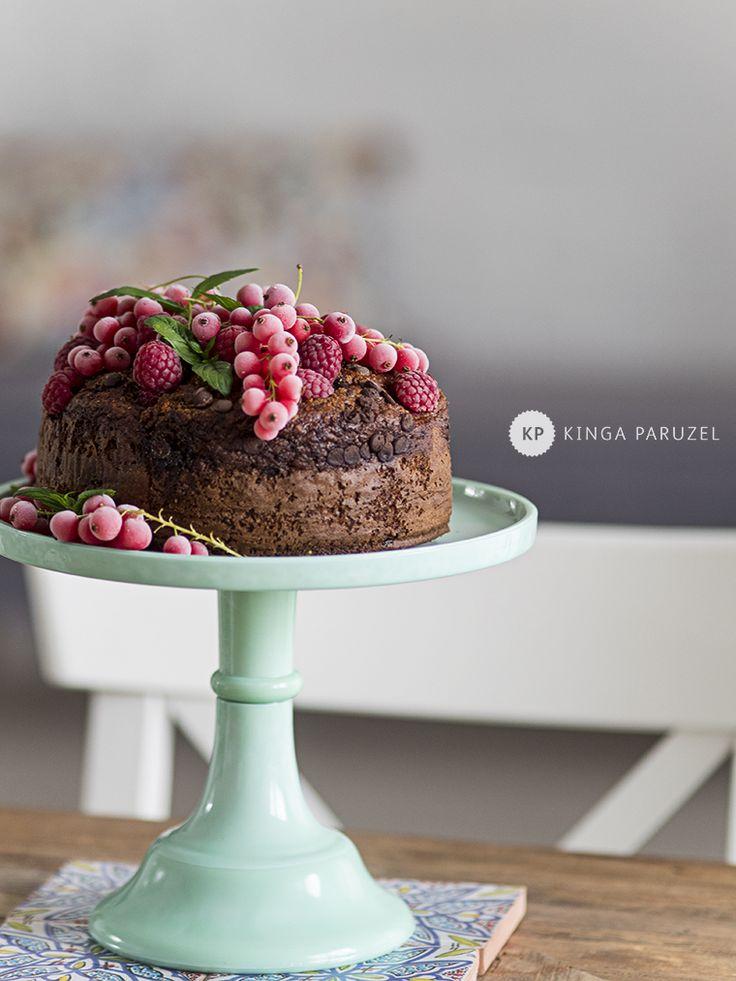 Lekkie ciasto - Ale Babka!!! i robi to co lubi:)
