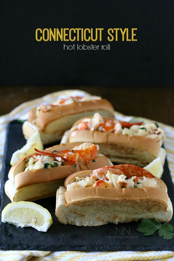 how to make lobster rolls with butter