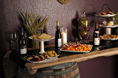 Wine Themed Party.  Check out the other pics on this site.