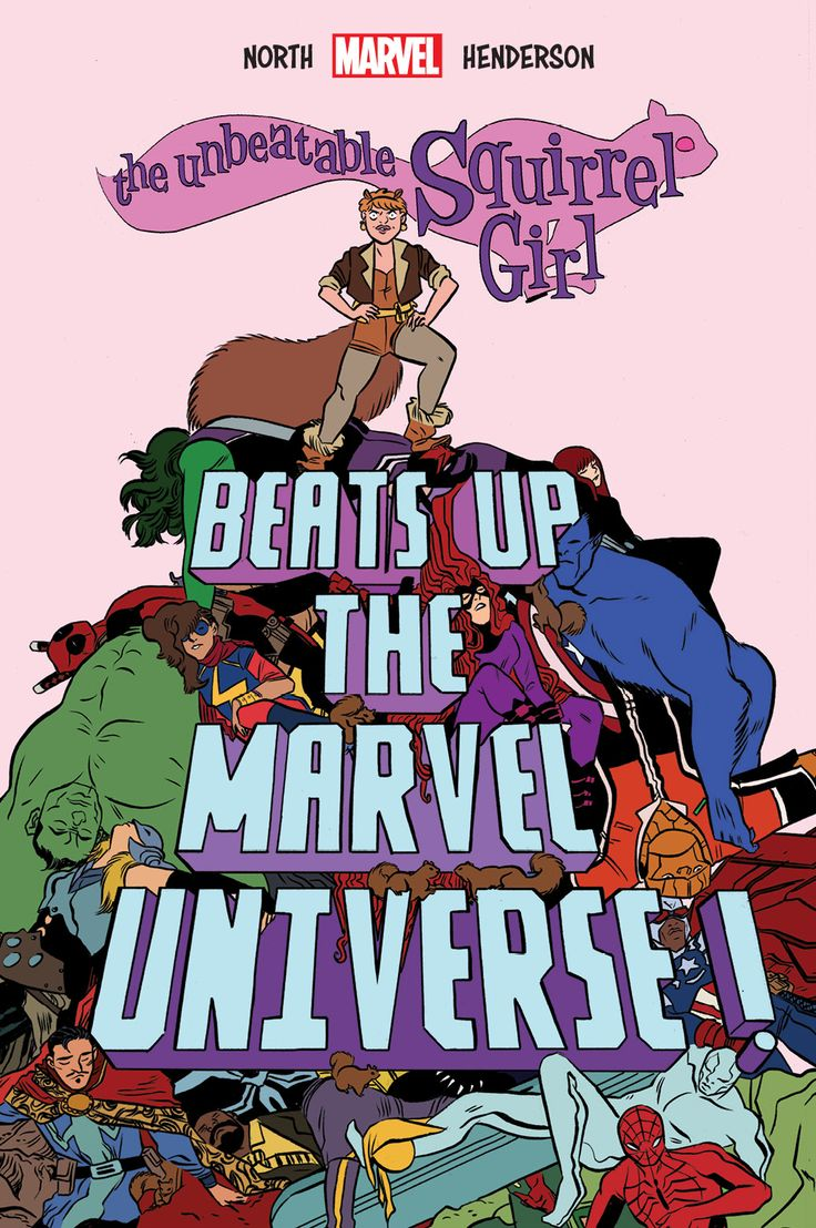 The Unbeatable Squirrel Girl Beats Up the Marvel Universe This October  Your First Look!