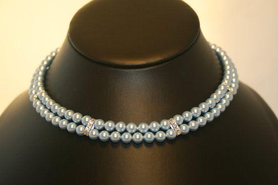 Handmade 'Antonia' Swarovski Crystal Pearl by LHadyoonJewellery, £44.00