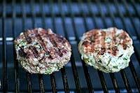 spicy grilled turkey burgers
