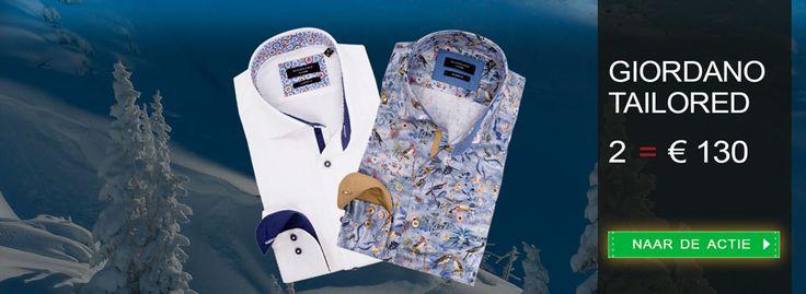 Cool: exclusieve #overhemden van Giordano Tailored. Profiteer nu van onze januari #actie: https://www.shirtsupplier.nl/nl/voordeelpacks/filter/pack/35 #mode #shirts #italië