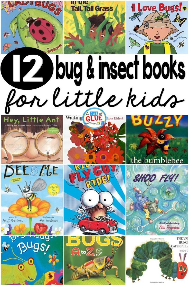 I LOVE using bug and insect books to teach little kids about this topic. They are a fabulous tool for teaching children about the world they live in. Some of these books are nonfiction and will teach children all about the given insect or bug. Some are a combination of fun facts and a silly story. Others are simply just for fun. Either way, here are our favorite bug and insect books.