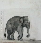 Elephant, c.1790  by Gungaram Tambat