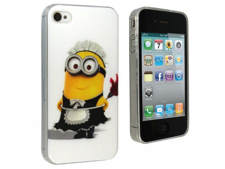 Silikónový kryt (obal) pre Iphone 4/4S - mimoň (Despicable me)