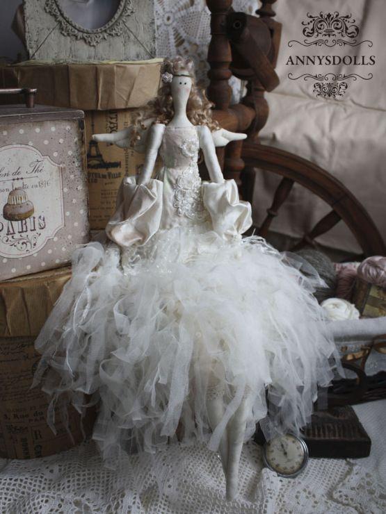 Gallery.ru / Фото #58 - Тильды в одежде стиля БОХО - Los-ku-tik