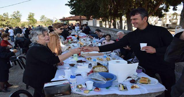 e-Pontos.gr: Πραγματοποιήθηκε το ταφικό έθιμο των Ποντίων στο Μ...
