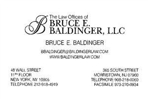 Cambridge Atty, Bruce Baldinger Atty
