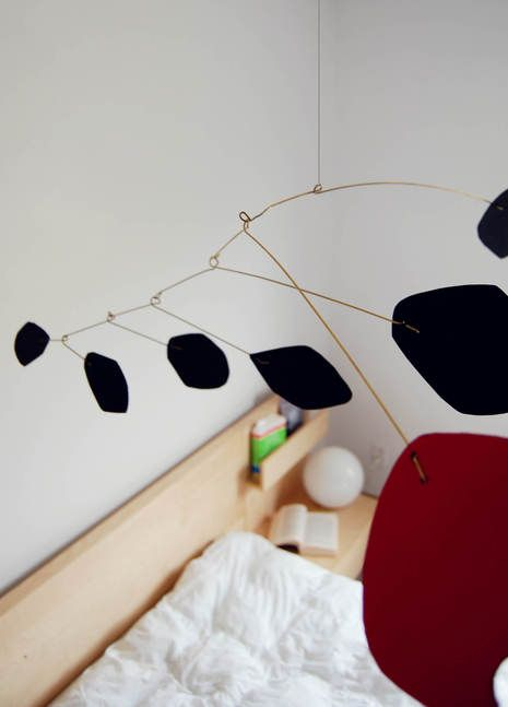 How to: Make a DIY Calder-Inspired Mid-Century Modern Mobile