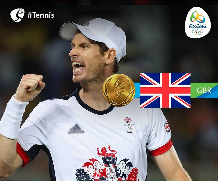 Rio 2016 ‏@Rio2016_en 23h23 hours ago #GBR's @andy_murray takes #Gold and…