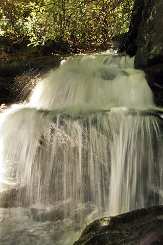 Lemon Falls, Pisgah National Forest, Brevard, NC