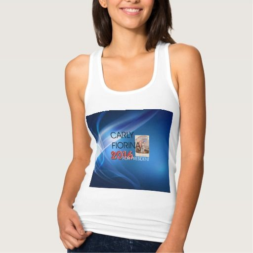 TEE Carly Fiorina for President Tank Tops