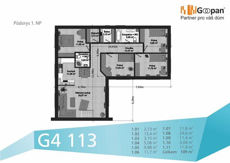 Nový rodinný dům za měsíční splátku 7174 Kč, ve kterém můžete bydlet již za 3 měsíce? ANO, umíme to :) Kompletní informace naleznete kliknutím na tento odkaz: http://www.goopan-building.cz/g4-113/