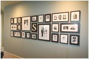 great photo wall