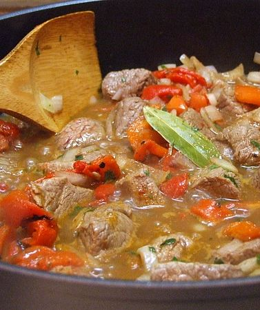 Basque Lamb Stew | Recipe Girl