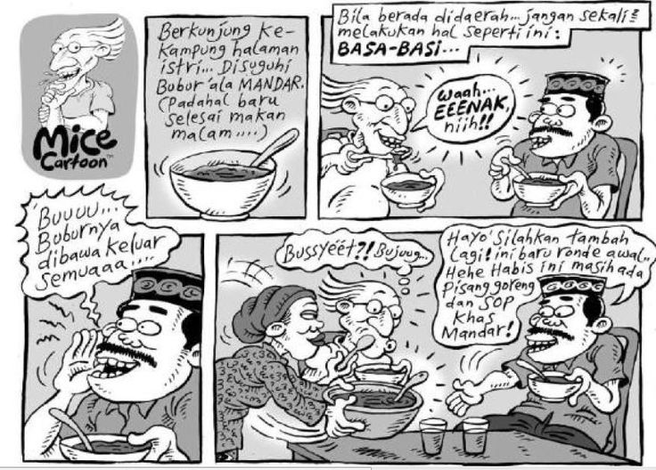 Mice Cartoon, Kompas - 20 September 2015: Basa- Basi