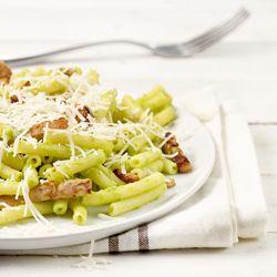 Macaroni met broccoli-kaassaus