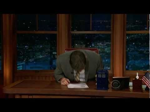 Craig Ferguson Laughing Attack. I've never been a fan until this. Wow. I laughed. Its contagious :)