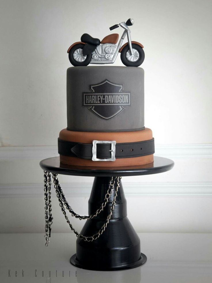 17 Best Ideas About Harley Davidson Cake On Pinterest
