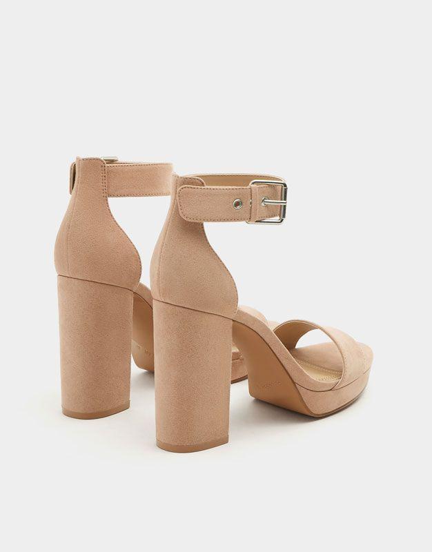 Zapatos Sandalia Mujer Rosa Tacón HebillaVer Todo hsQrtdCx