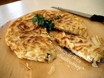 Πανεύκολη τυρόπιτα στο τηγάνι