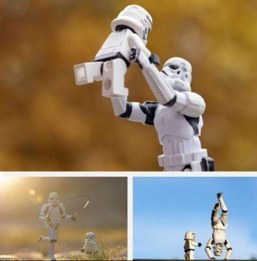 Stormtrooper happiness
