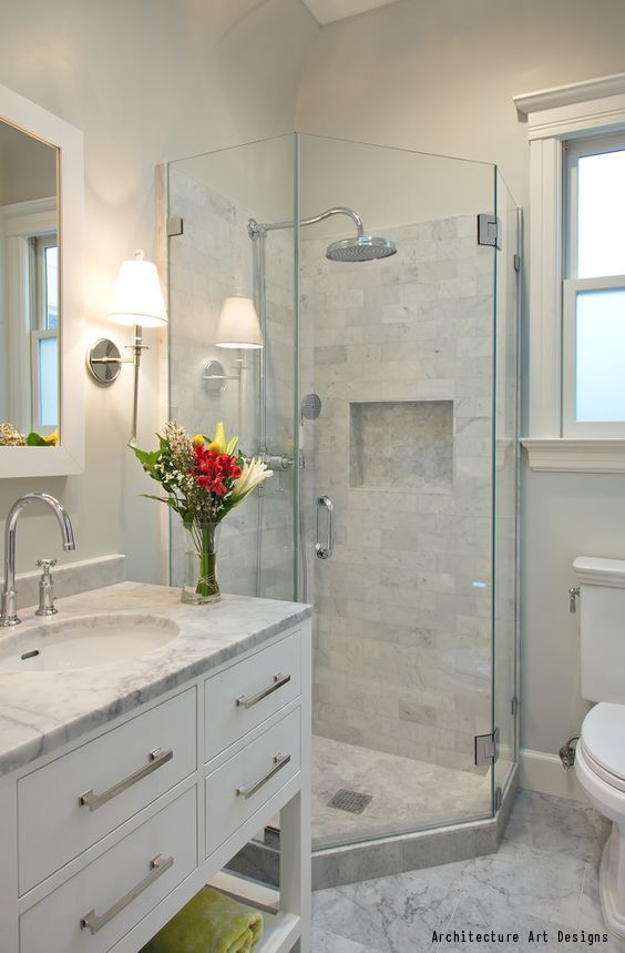 Learn More About Shower Installation Costs With Our. Small BathroomsBeach  ... Part 69