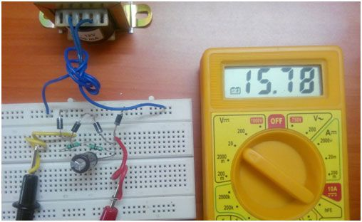 Marvelous Full Wave Rectifier Circuit On Breadboard With Filter Electronic Wiring 101 Cranwise Assnl