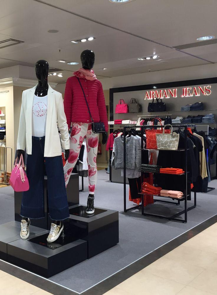 #visualmerchandising Armani Jeans