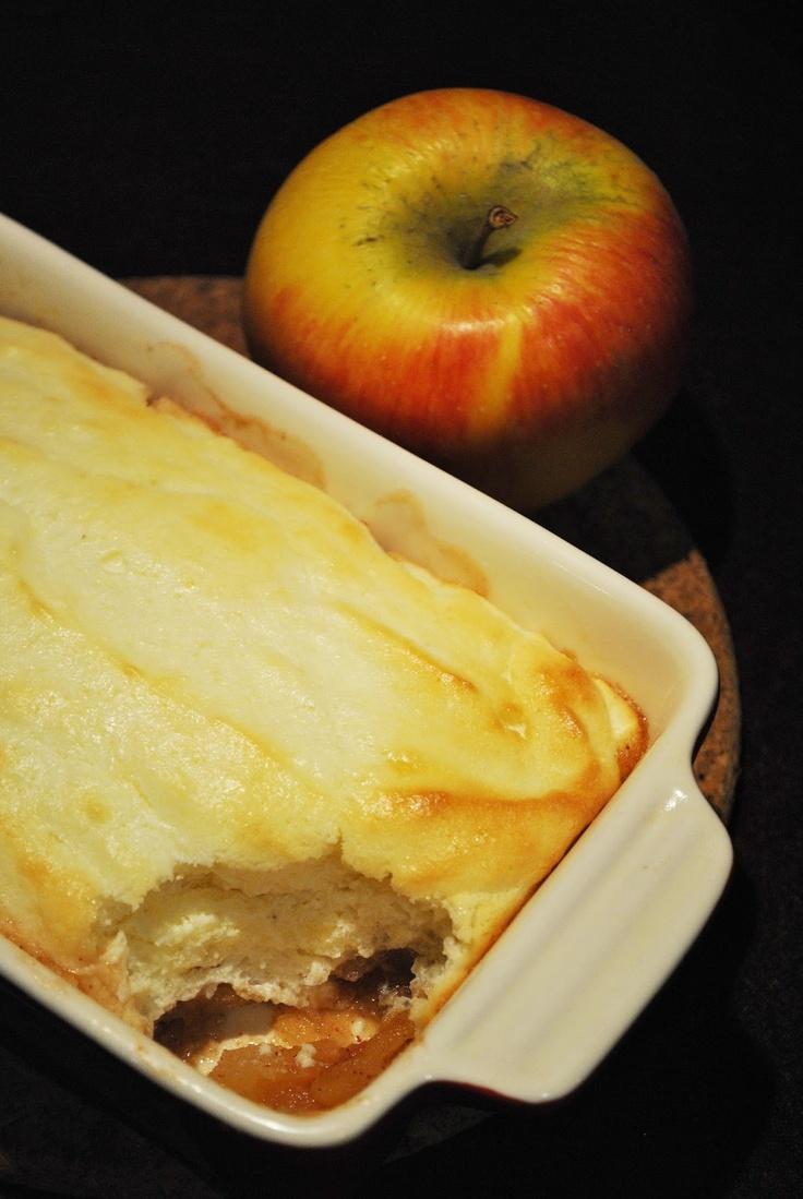 Küchenzaubereien: Weihnachtlicher Apfel-Quark-Auflauf