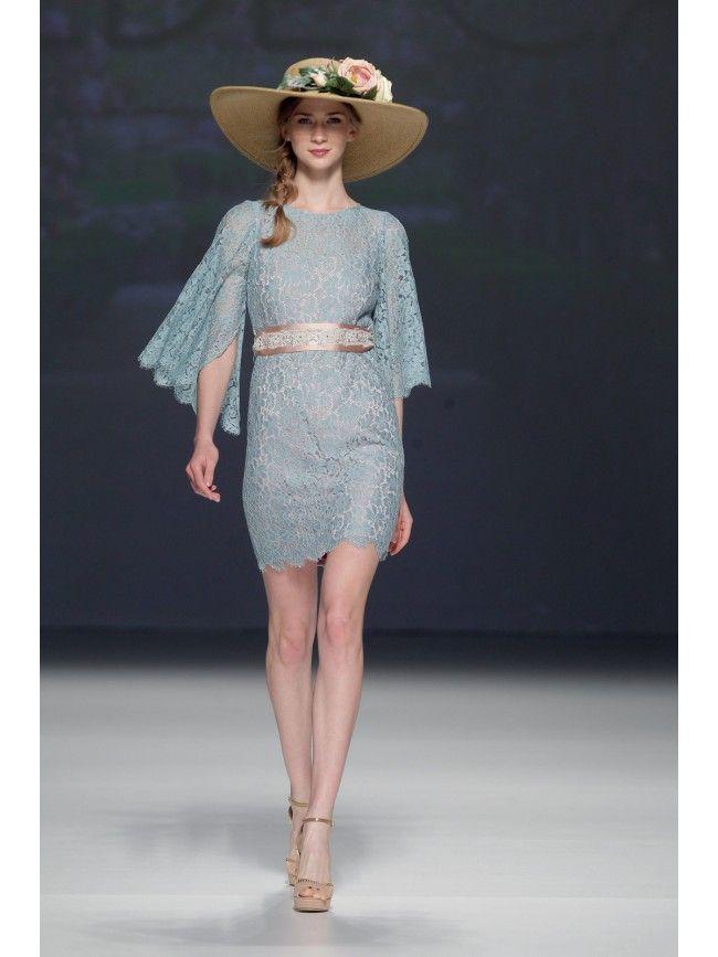 #Vestido Corto encaje de #MatildeCano #Dress #Vestidos #Moda #Trend #Fashion #Fiesta