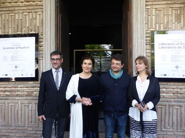 Εγκαίνια του ελληνικού περιπτέρου στη Μπιενάλε Βενετίας και επαφές για θέματα πολιτισμού από την Υπουργό Πολιτισμού και Αθλητισμού Λ. Κονιόρδου