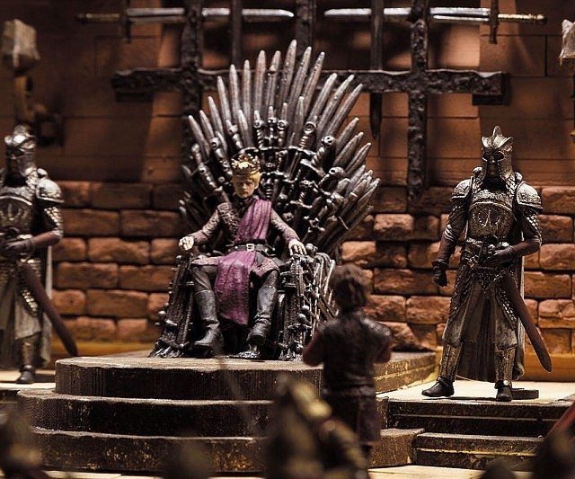 Game Of Thrones Iron Throne Room Joffrey