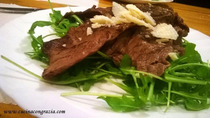straccetti rucola e grana http://www.cucinacongrazia.com/2016/01/secondi/straccetti-rucola-e-grana/ | Cucina con Grazia