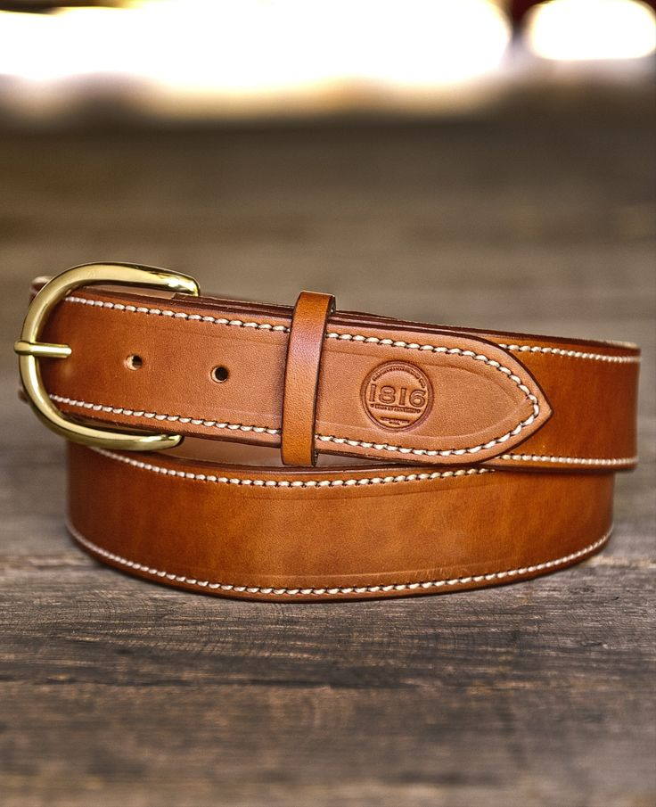 1816 Handmade Leather Belt 1816 by Remington 2015 - 2016 http://profotolib.com/picture.php?/19848/category/554
