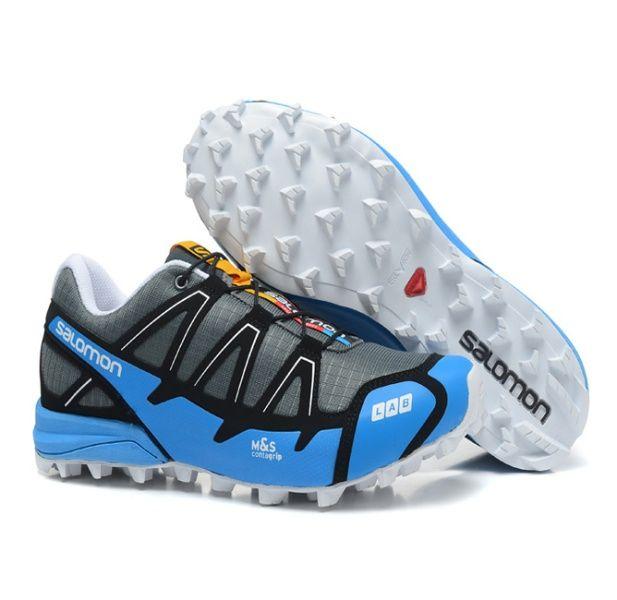 RSS Product Feed :: Chaussures Trail Salomon S-LAB Fellcross 2 Bleu Cyan Noir