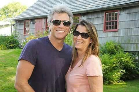 Jon Bon Jovi and Dorothea Hurley- The Hamptons