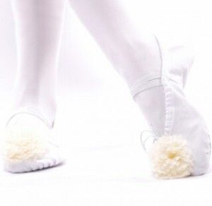 ballet shoes 003 white