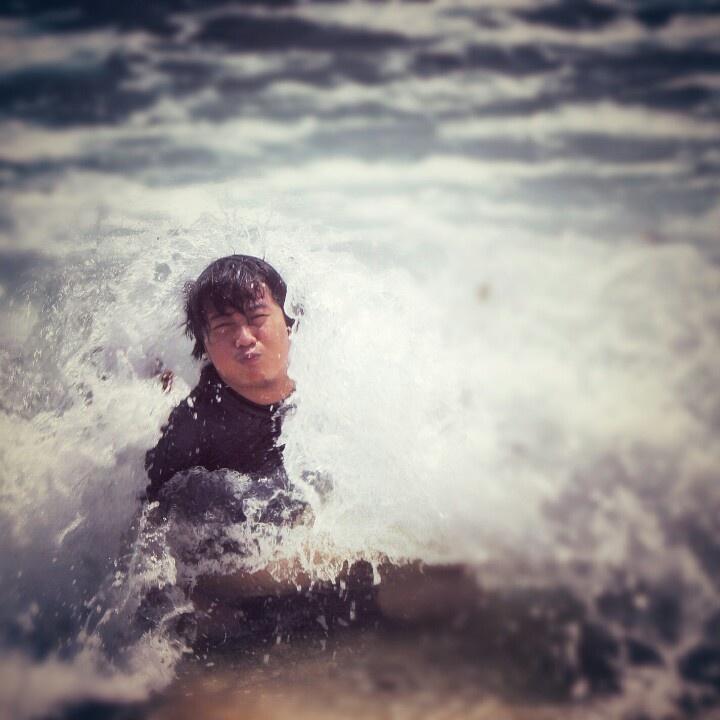 Big man big wave, #goacina, malang Indonesia