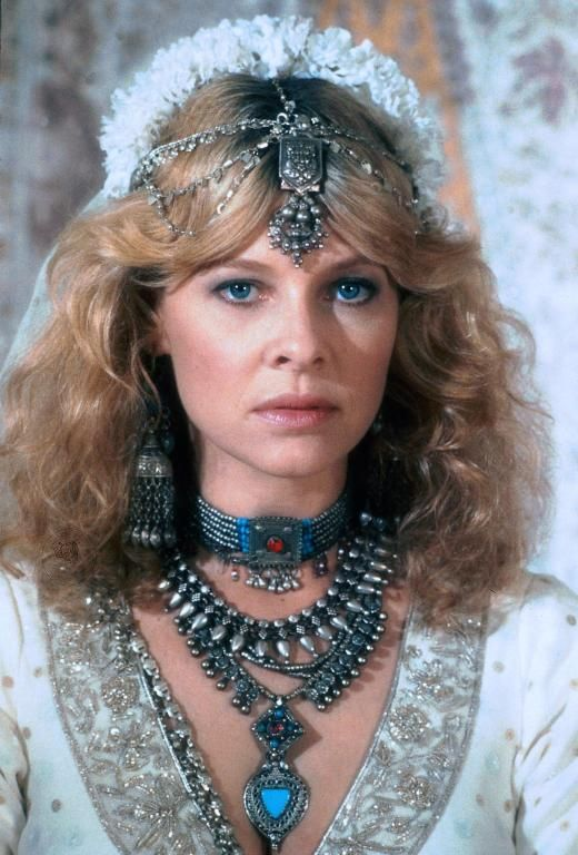 Kate Capshaw (as Willie Scott in Indiana Jones and the Temple of Doom)