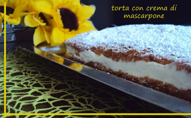 torta al mascarpone farcita - senza glutine