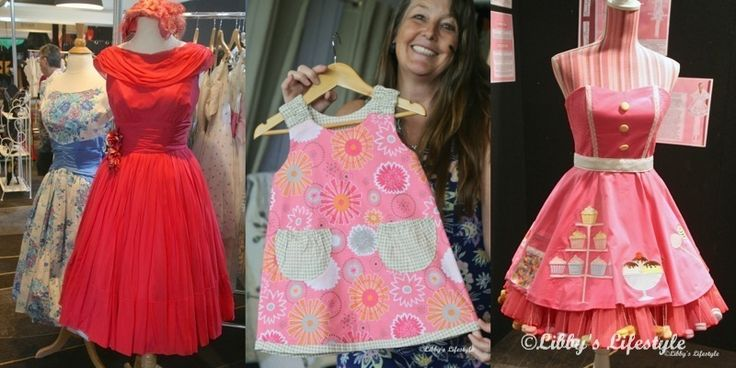 Libby's Lifestyle.: Stitches and Craft Show, Sydney 2016 … including a little vintage.