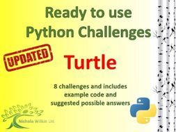 Python Turtle by nwilkin - Teaching Resources - Tes