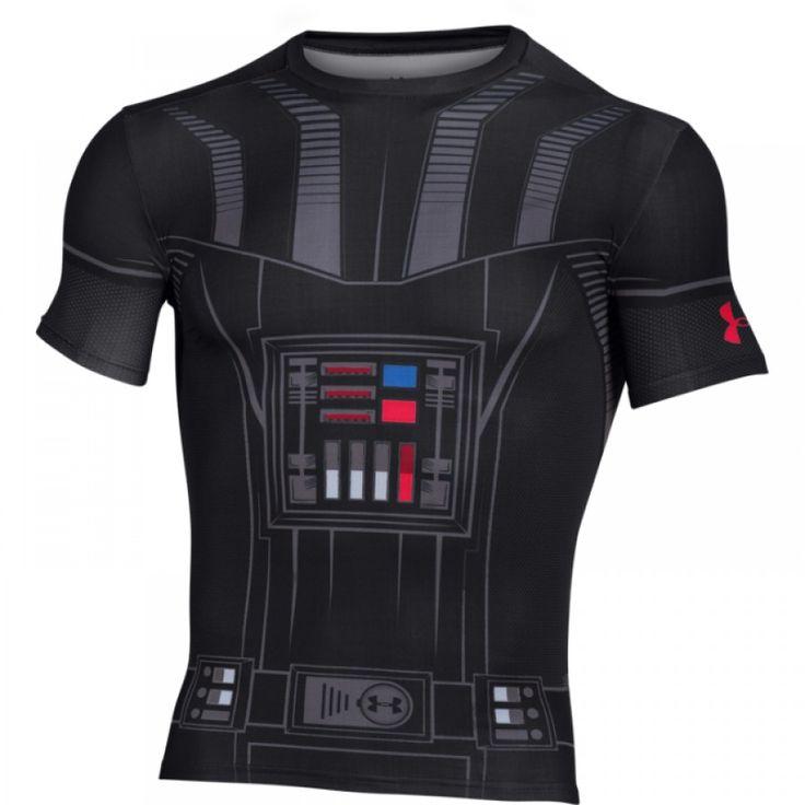 Pánské kompresní tričko Under Armour Star Wars Vader