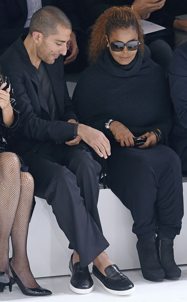 Janet Jackson & Wissam Al Mana from Stars at Paris Fashion Week Spring 2016 | E! Online