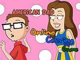 """Играть в игру Американский папаша: Онлайн раскраска бесплатно на PLAYONLINE. Эта игра-раскраска понравится как девочкам, так и мальчикам. Игра основана на популярном и интересном мультфильме """"Американский папаша""""."""