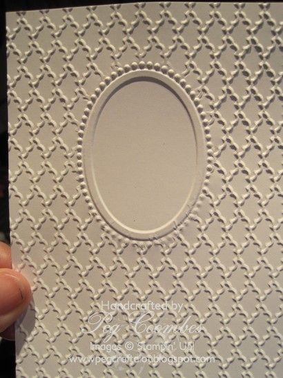 Embossing Tutorial How to double emboss
